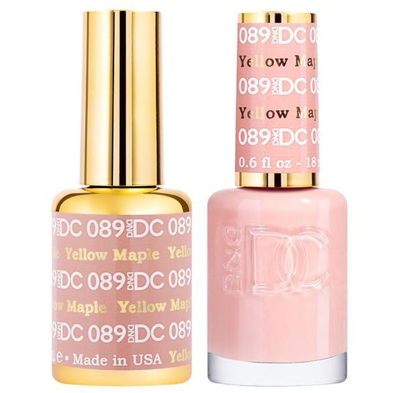 DND DC Gel Duo - Yellow Maple #089-Gel Nail Polish + Lacquer-Universal Nail Supplies
