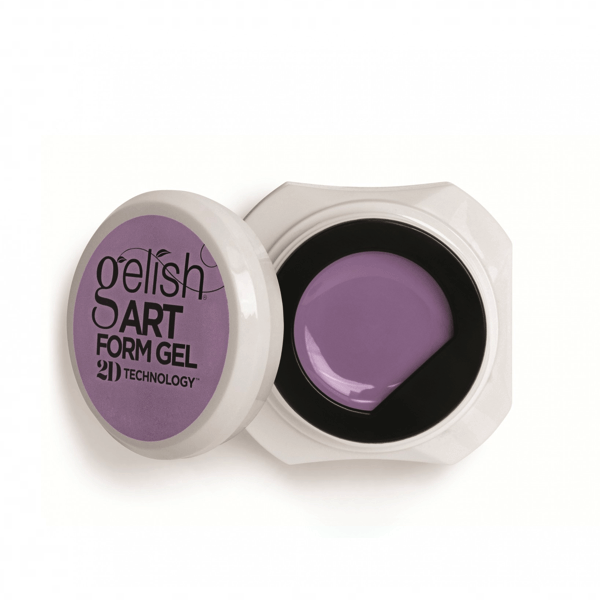 Gelish Art Form Gel 2D Technology - Pastel Purple-art form gel-Universal Nail Supplies
