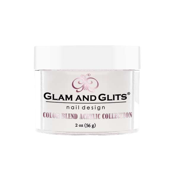 Glam and Glits Color Blend Collection - Milky White #BL3001-Dipping Powder-Universal Nail Supplies