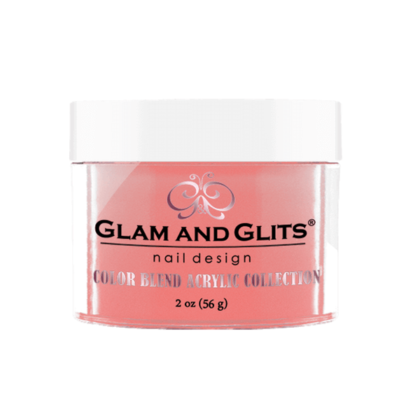 Glam and Glits Color Blend Collection - Peach Please #BL3022-Dipping Powder-Universal Nail Supplies