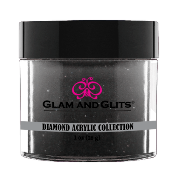 Glam and Glits Diamond Acrylic Collection - Black Lace #DA79-Dipping Powder-Universal Nail Supplies