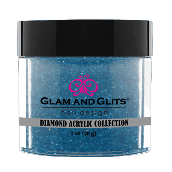 Glam and Glits Diamond Acrylic Collection - Deep Blue #DA84-Dipping Powder-Universal Nail Supplies