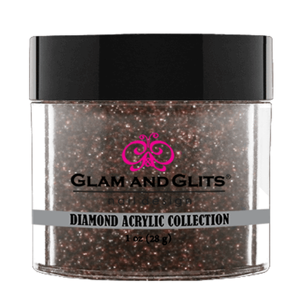 Glam and Glits Diamond Acrylic Collection - Latte #DA86-Dipping Powder-Universal Nail Supplies