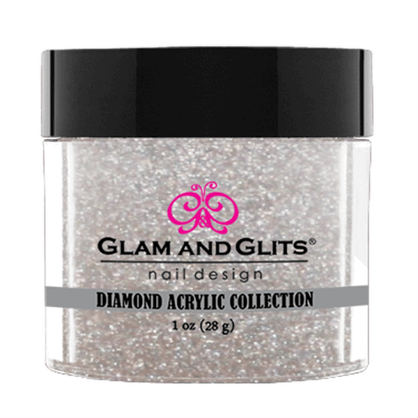 Glam and Glits Diamond Acrylic Collection - Silhouette #DA85-Dipping Powder-Universal Nail Supplies