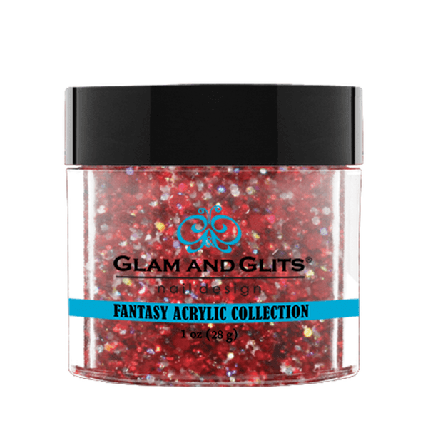 Glam and Glits Fantasy Acrylic Collection - Red Cherry #FA528-Dipping Powder-Universal Nail Supplies