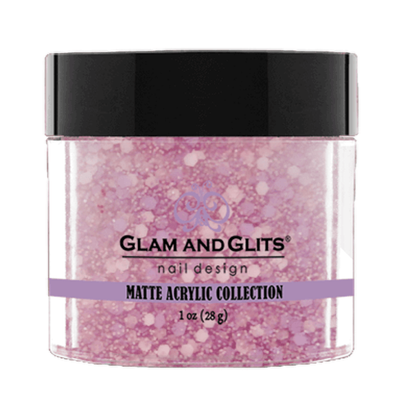 Glam and Glits Matte Acrylic Collection - Bubblegum #MA624-Dipping Powder-Universal Nail Supplies