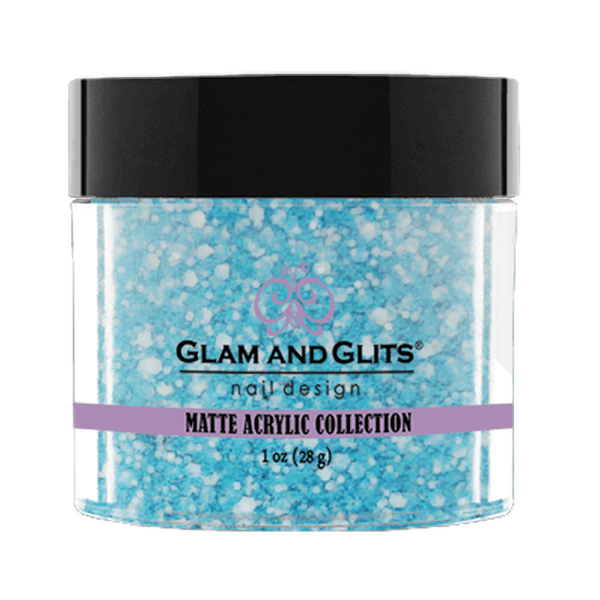 Glam and Glits Matte Acrylic Collection - Caribbean Coconut #MA615-Dipping Powder-Universal Nail Supplies