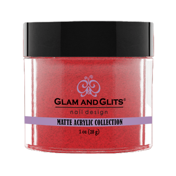 Glam and Glits Matte Acrylic Collection - Fuzzy Berry #MA648-Dipping Powder-Universal Nail Supplies