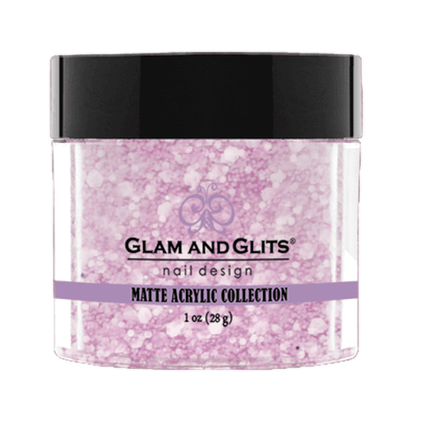 Glam and Glits Matte Acrylic Collection - Lavender Ice #MA612-Dipping Powder-Universal Nail Supplies