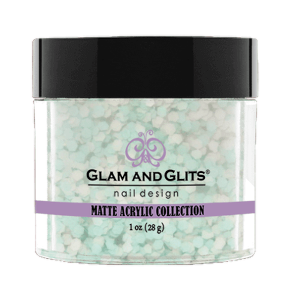Glam and Glits Matte Acrylic Collection - Lime Pie #MA623-Dipping Powder-Universal Nail Supplies