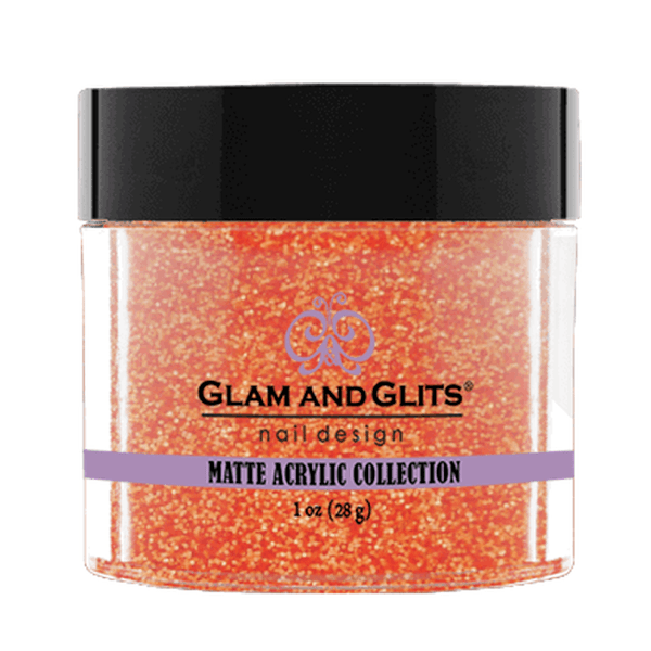 Glam and Glits Matte Acrylic Collection - Orange Brandy #MA634-Dipping Powder-Universal Nail Supplies