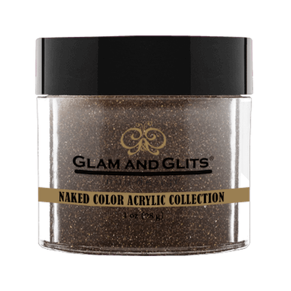 Glam and Glits Naked Color Acrylic Collection - Coffee Break #NCA433-Dipping Powder-Universal Nail Supplies