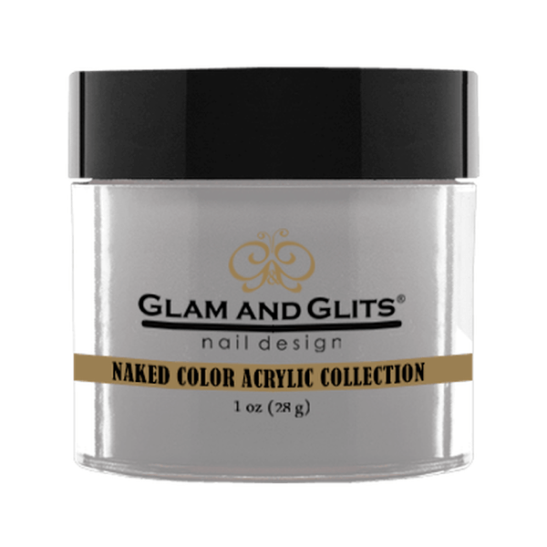 Glam and Glits Naked Color Acrylic Collection - Gray Gray #NCA437-Dipping Powder-Universal Nail Supplies