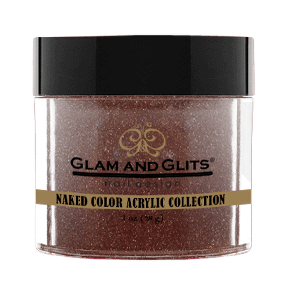 Glam and Glits Naked Color Acrylic Collection - Roasted Chestnut #NCA430-Dipping Powder-Universal Nail Supplies