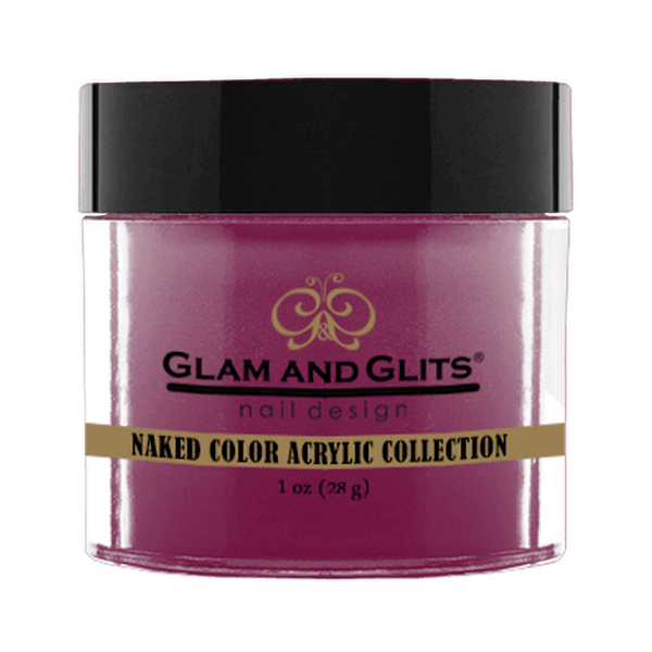 Glam and Glits Naked Color Acrylic Collection - Smoldering Plum #NCA442-Dipping Powder-Universal Nail Supplies
