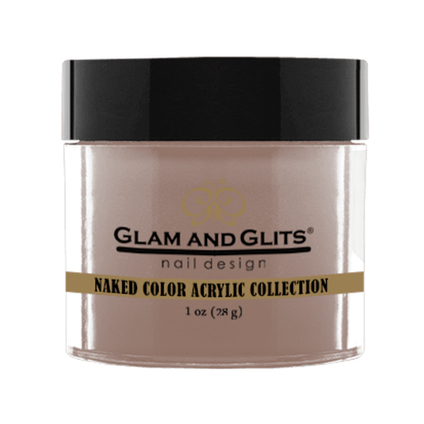 Glam and Glits Naked Color Acrylic Collection - Totally Taupe #NCA408-Dipping Powder-Universal Nail Supplies
