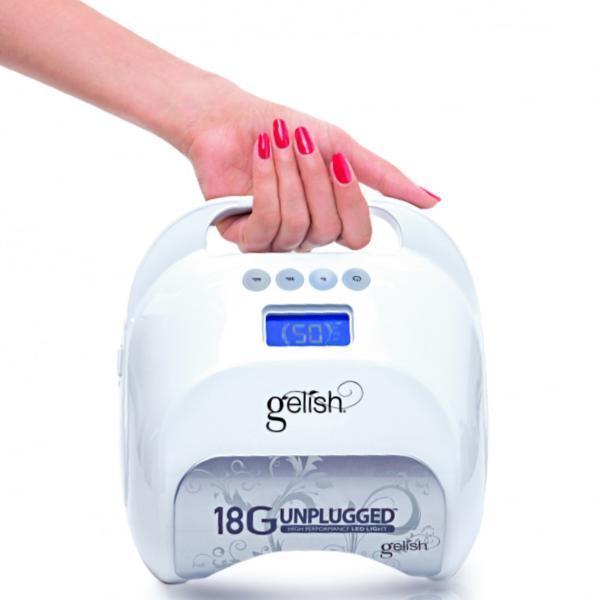 Harmony Gelish 18G Lamp Unplugged High Performance LED Light-Nail Drill-Universal Nail Supplies