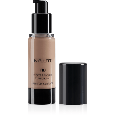 Inglot HD Perfect Coverup Foundation - #72-make-up cosmetics-Universal Nail Supplies