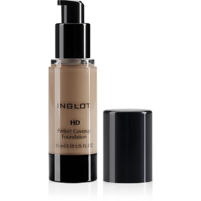 Inglot HD Perfect Coverup Foundation - #75-make-up cosmetics-Universal Nail Supplies