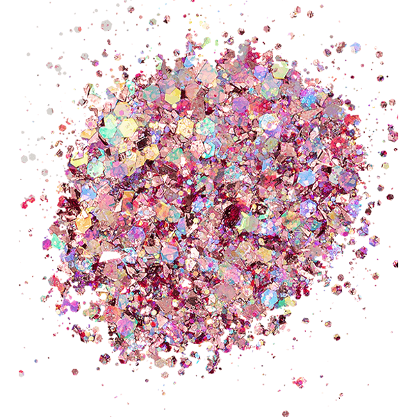 Kiara Sky 3D Sprinkle On Glitter - Pink It Up SP243-Powder-Universal Nail Supplies