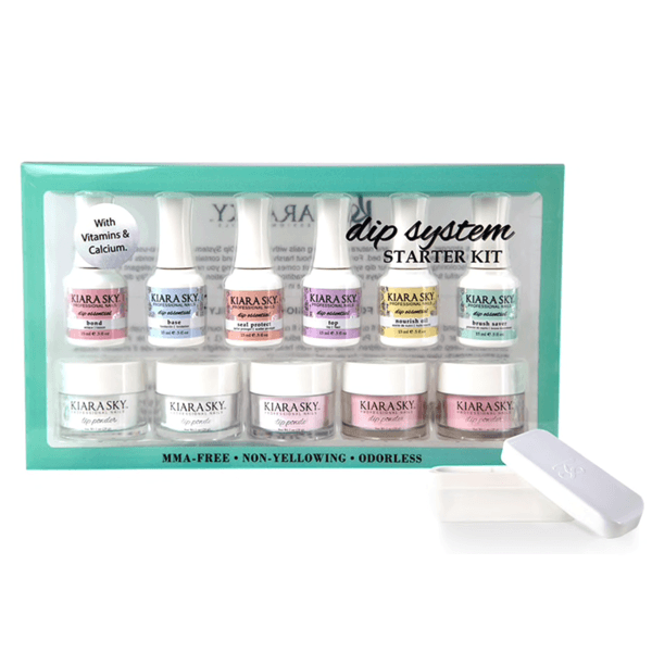 Kiara Sky Dip Powder - Dip System French Kit-Dipping Essentials-Universal Nail Supplies