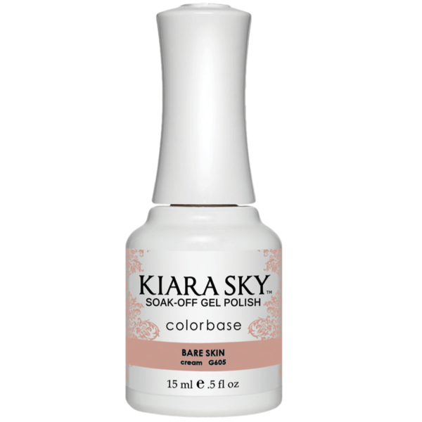 Kiara Sky Gel Polish - Bare Skin #G605-Gel Nail Polish-Universal Nail Supplies