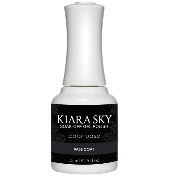 Kiara Sky Gel Polish - Base Coat 0.5 oz 15 mL-Base & Top Coats-Universal Nail Supplies