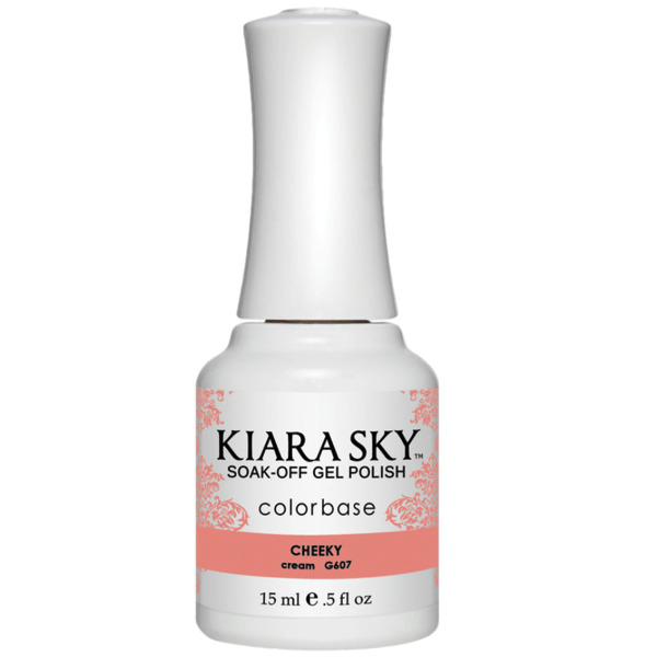 Kiara Sky Gel Polish - Cheeky #G607-Gel Nail Polish-Universal Nail Supplies