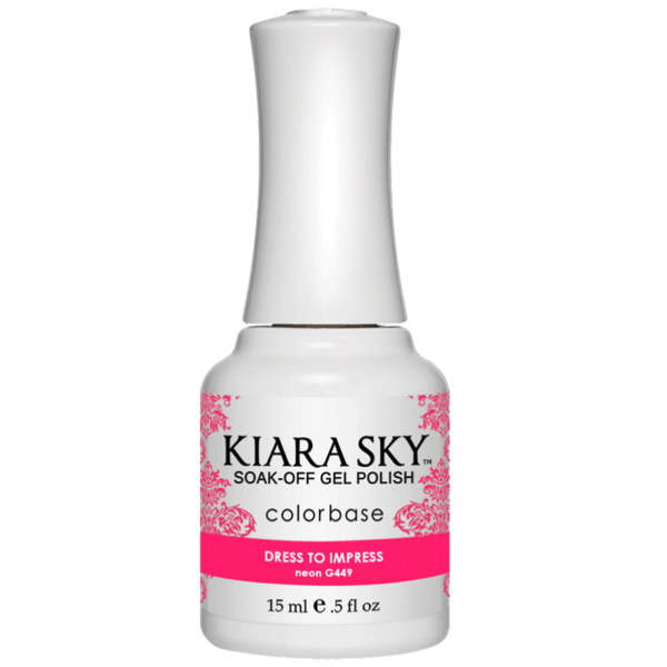 Kiara Sky Gel Polish - Dress To Impress #G449-Gel Nail Polish-Universal Nail Supplies