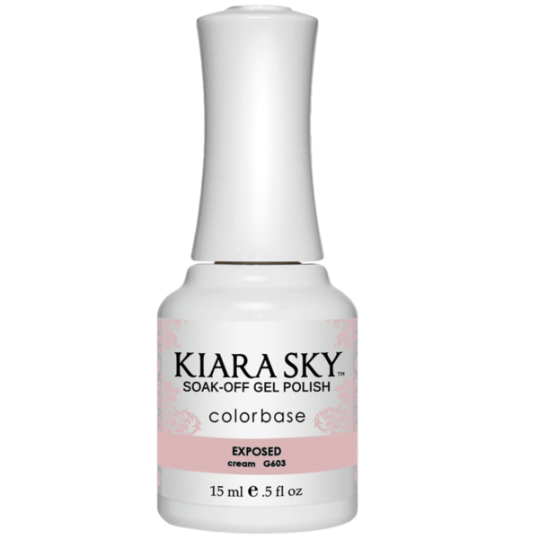 Kiara Sky Gel Polish - Exposed #G603-Gel Nail Polish-Universal Nail Supplies