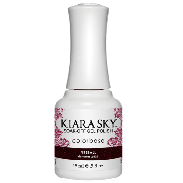 Kiara Sky Gel Polish - Fireball #G426-Gel Nail Polish-Universal Nail Supplies