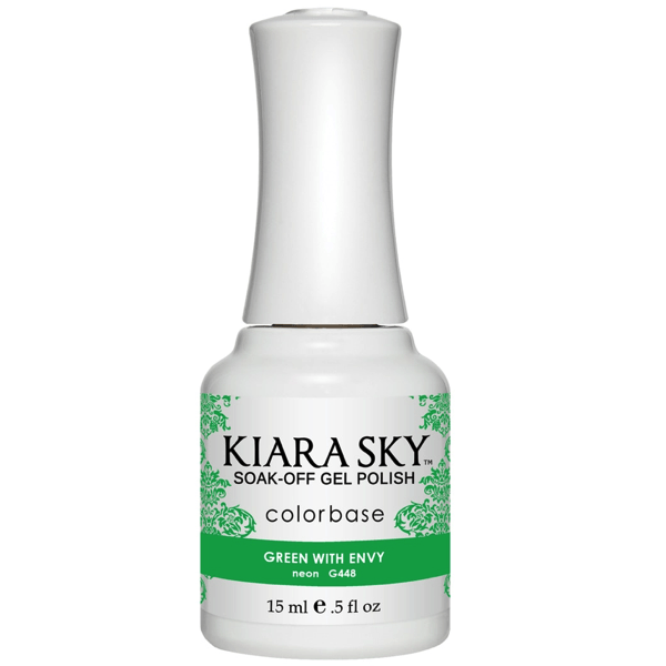 Kiara Sky Gel Polish - Green With Envy #G448-Gel Nail Polish-Universal Nail Supplies