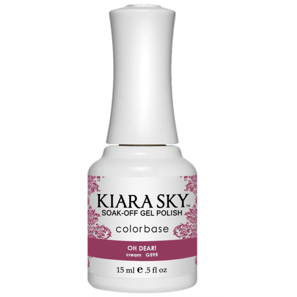 Kiara Sky Gel Polish - Oh Dear! #G595-Gel Nail Polish-Universal Nail Supplies
