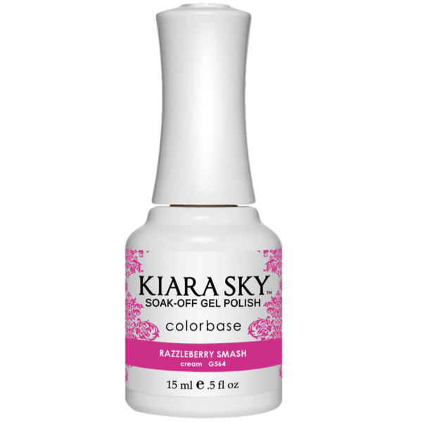 Kiara Sky Gel Polish - Razzleberry Smash #G564-Gel Nail Polish-Universal Nail Supplies