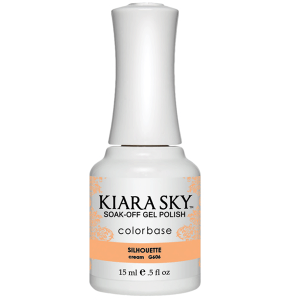 Kiara Sky Gel Polish - Silhouette #G606-Gel Nail Polish-Universal Nail Supplies