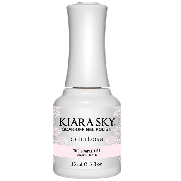 Kiara Sky Gel Polish - The Simple Life #G514-Gel Nail Polish-Universal Nail Supplies