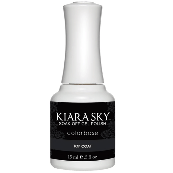 Kiara Sky Gel Polish - Top Coat 0.5 oz 15 mL-Base & Top Coats-Universal Nail Supplies