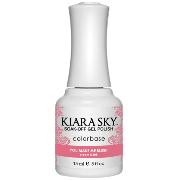 Kiara Sky Gel Polish - You Make Me Blush #G405-Gel Nail Polish-Universal Nail Supplies