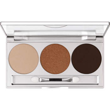 Kryolan Eye Shadow Trio- Smokey Beige-makeup cosmetics-Universal Nail Supplies
