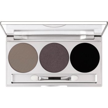 Kryolan Eye Shadow Trio- Smokey Grey-makeup cosmetics-Universal Nail Supplies