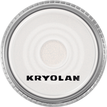 Kryolan Polyester Glimmer Fine - Pearl White-makeup cosmetics-Universal Nail Supplies
