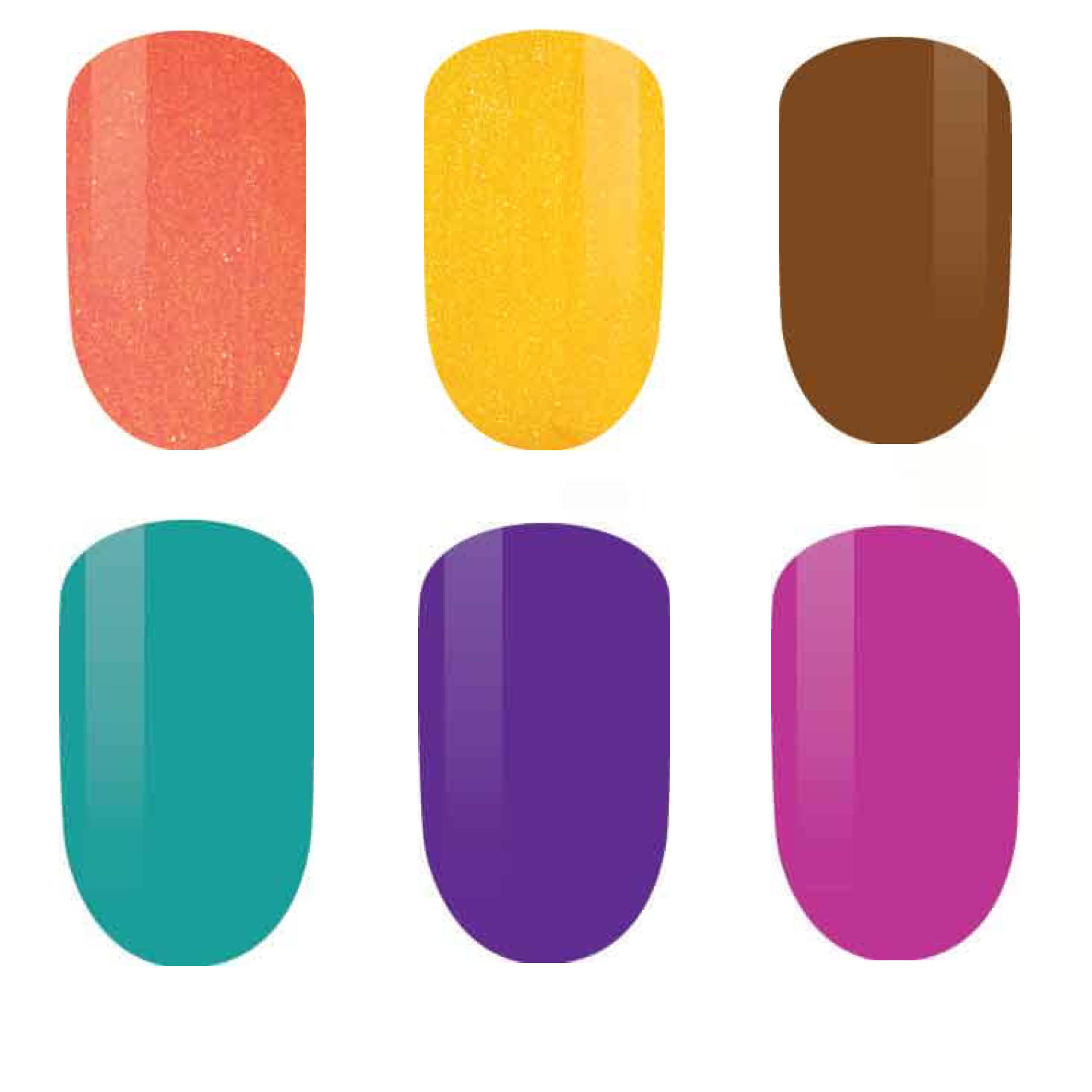 LeChat Perfect Match Gel + Matching Lacquer IndieFest Collection #229 – 234-Gel Nail Polish-Universal Nail Supplies
