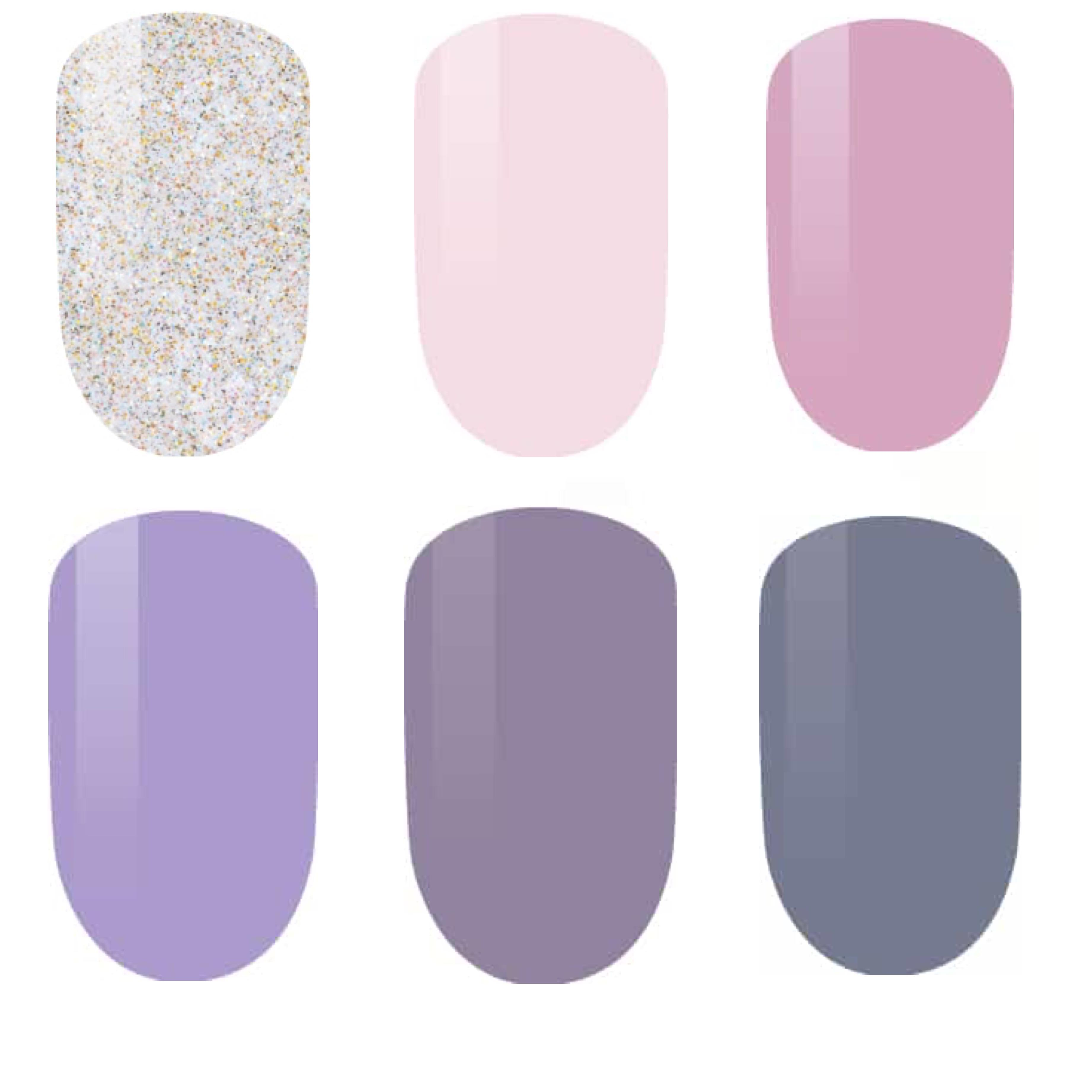 LeChat Perfect Match Gel + Matching Lacquer Veiled Secrets Collection #241 _ 246-Gel Nail Polish-Universal Nail Supplies