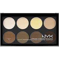 NYX Highlight & Contour Pro Palette-makeup cosmetics-Universal Nail Supplies