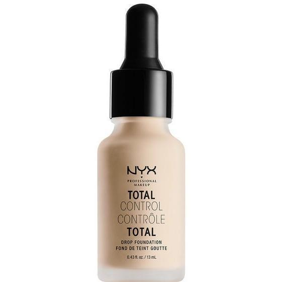 NYX Total Control Drop Foundation - Alabaster-nyx-Universal Nail Supplies