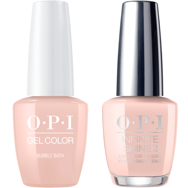 OPI GelColor Bubble Bath #S86 + Infinite Shine #S86-Gel Nail Polish + Lacquer-Universal Nail Supplies