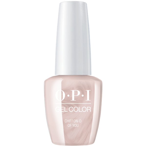 OPI GelColor Chiffon-D Of You #SH3-Gel Nail Polish-Universal Nail Supplies