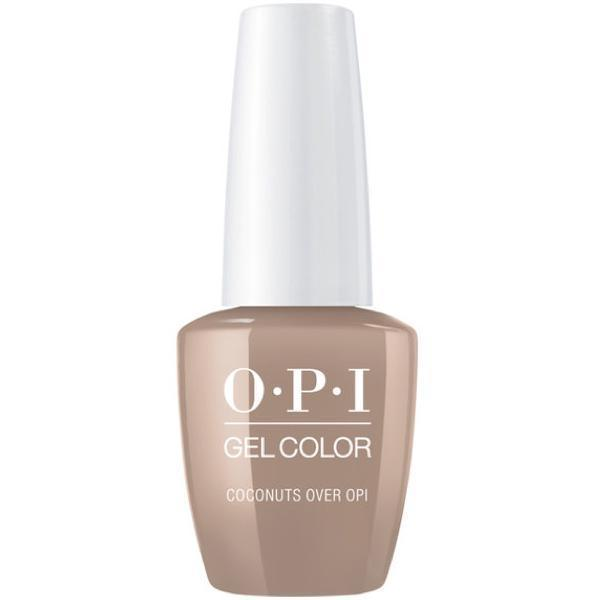 OPI GelColor Coconuts Over OPI #F89-Gel Nail Polish-Universal Nail Supplies