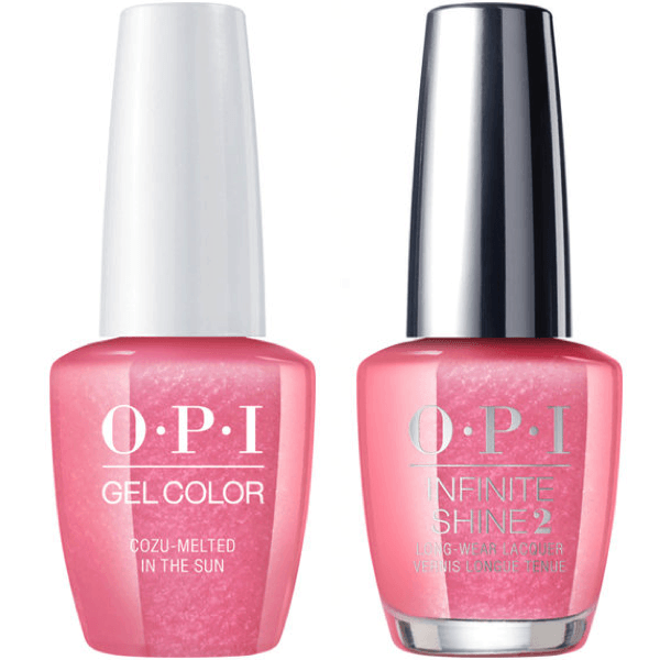 OPI GelColor Cozu-Melted In The Sun #M27 + Infinite Shine #M27-Gel Nail Polish + Lacquer-Universal Nail Supplies