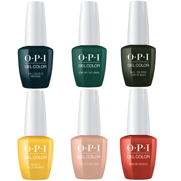 OPI GelColor Fall 2016 Washington DC Collection Kit #1-Gel Nail Polish-Universal Nail Supplies